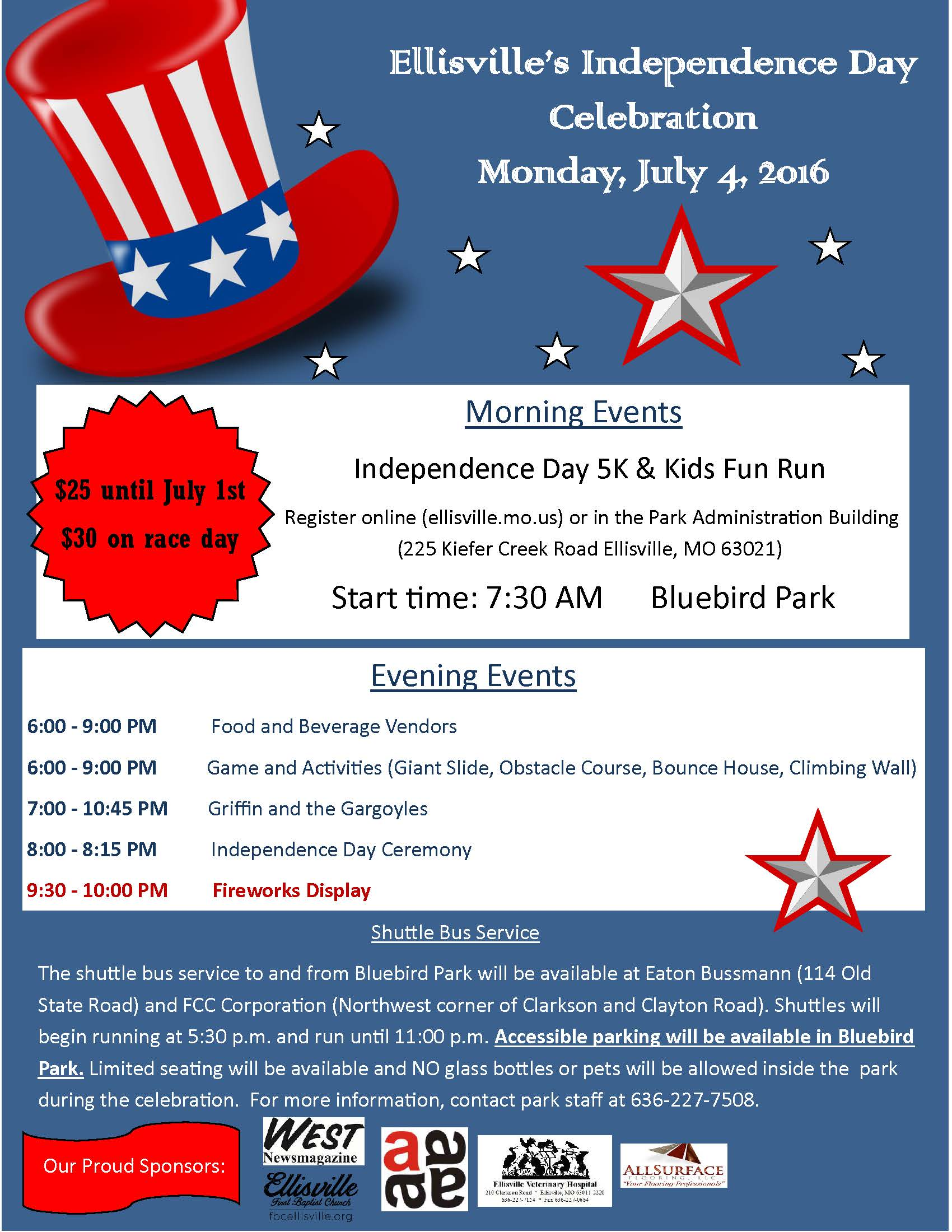 July 4th 2016 Flyer