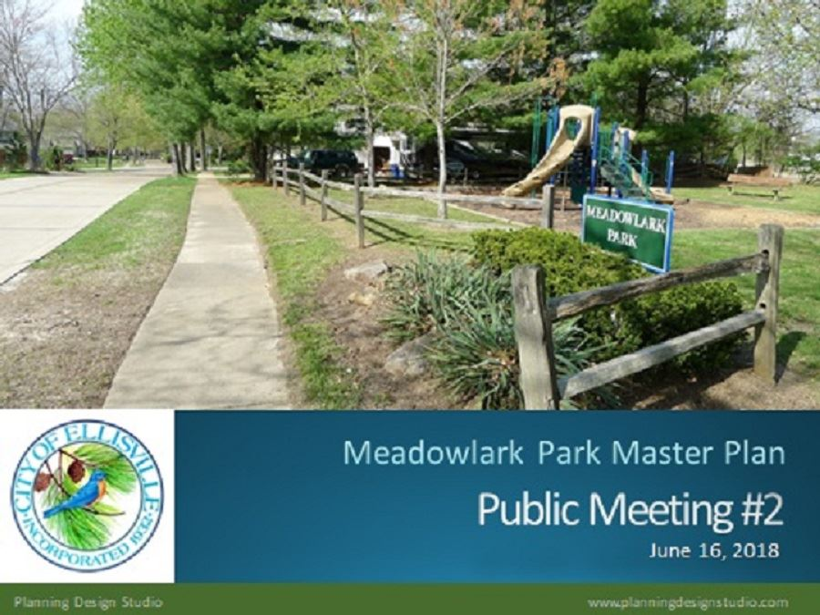 Meadowlark Park Master Plan Public Meeting Number 2, Page 1
