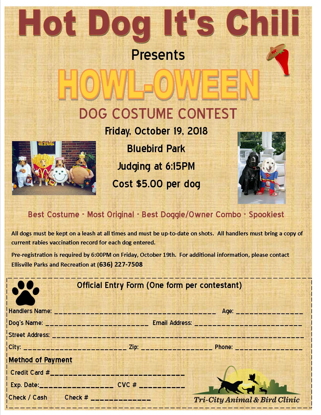 Howl-o-ween costume contest 18