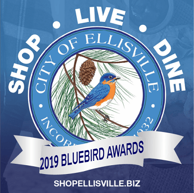 City of Ellisville Shop-Live-Dine Logo