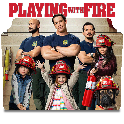 playing with fire movie cover