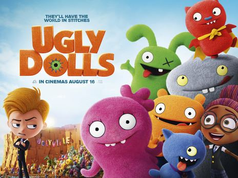 Ugly Dolls movie cover