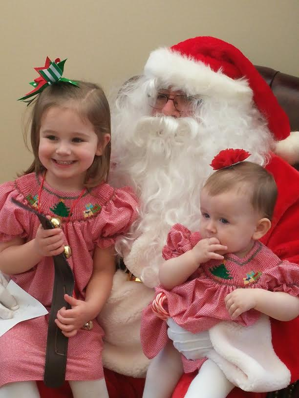 santa with girls 2